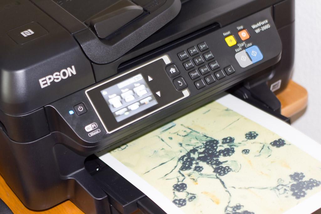 Praxistest zur Druckqualität des Epson WF-2660DWF